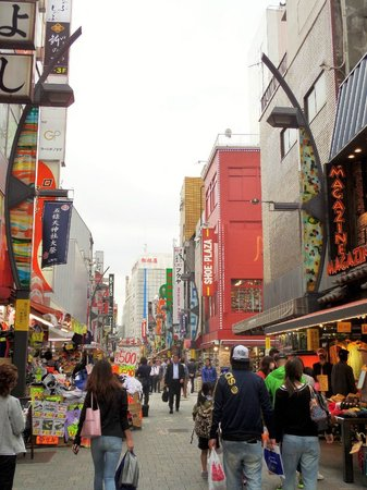 Ueno: Store to the left and right
