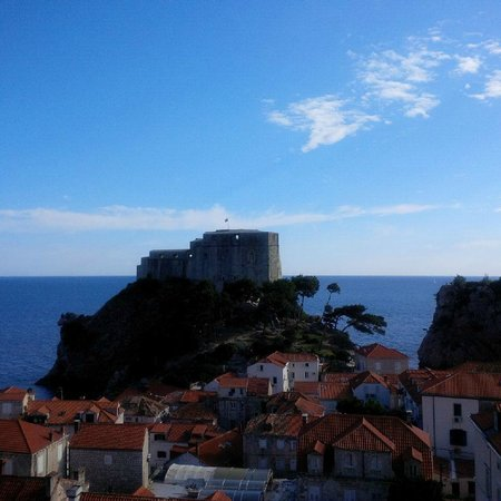 Hilton Imperial Dubrovnik : view from the room
