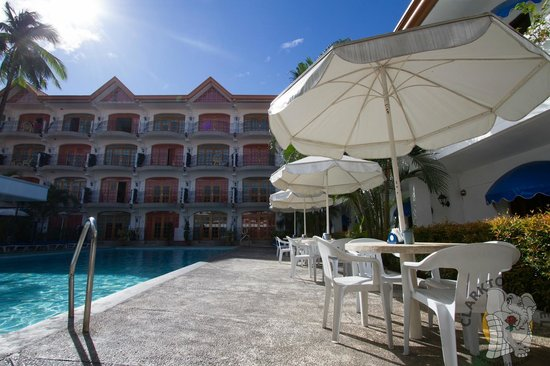 Pool Side Picture Of Clarkton Hotel Angeles City