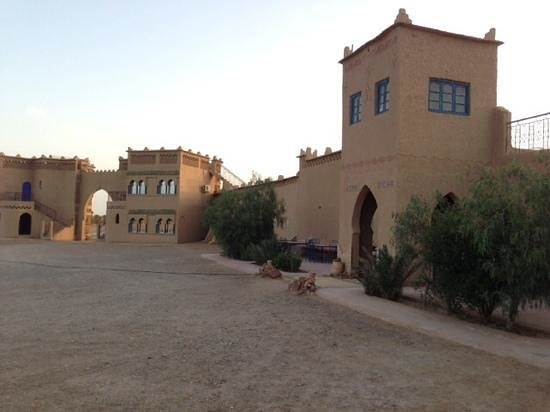 Ksar Bicha : Entrance to the courtyard