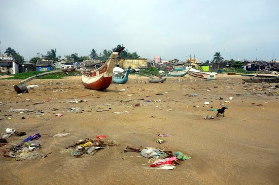 Mount Lavinia Beach: More filth