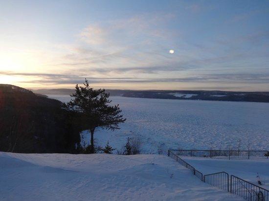 Auberge La Tourelle du Fjord : Vue de la chambre