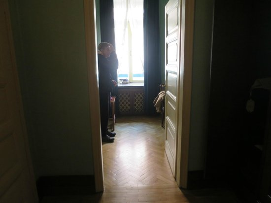Hotel Francuski : View when entering the room