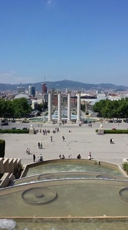 Placa Espanya : η θέα από το σχεδόν ψηλότερο σημείο