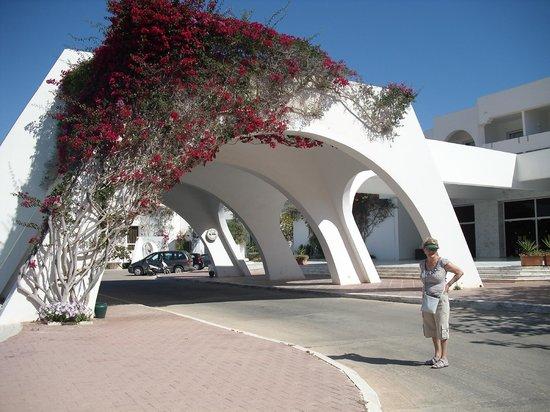 Djerba Plaza Hotel & Spa : ingang hotel