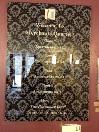 L3 Living - The Merchant Quarters, Liverpool: L3 Living room list
