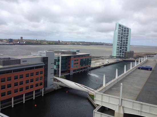 L3 Living - The Merchant Quarters, Liverpool: View of the Dock