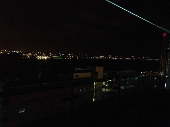 L3 Living - The Merchant Quarters, Liverpool: View of Dock at night