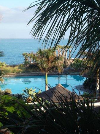 Gran Melia Palacio de Isora Resort & Spa : Vista dalla camera