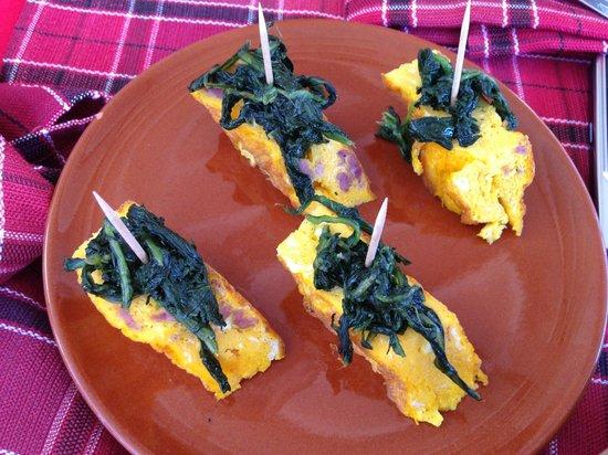 La Fraschetta de Sora Ines: Frittatina con Spinaci