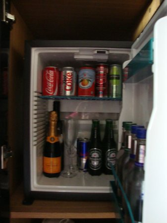 Malmaison Hotel : in room fridge-very pricey