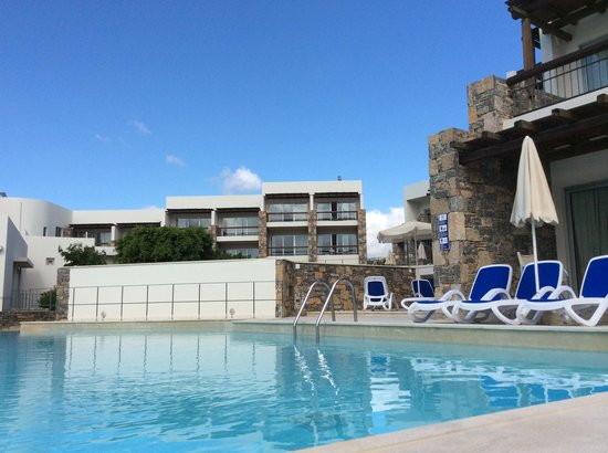 Mirabello Beach & Village Hotel : view of private pool in front of village apt