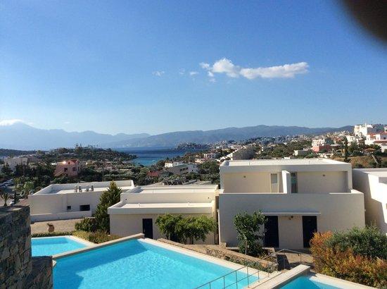 Mirabello Beach & Village Hotel : view from terrace apt n° 756