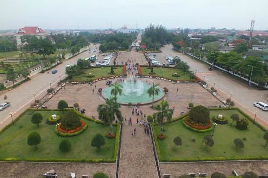 Patuxai: View from the top