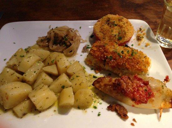 Cantina Do Spade : Small plates