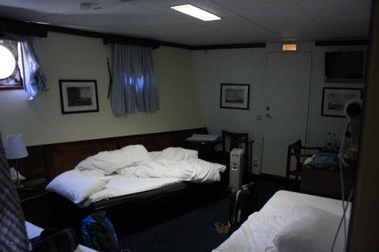 Malardrottningen Yacht Hotel and Restaurant : la nostra camera
