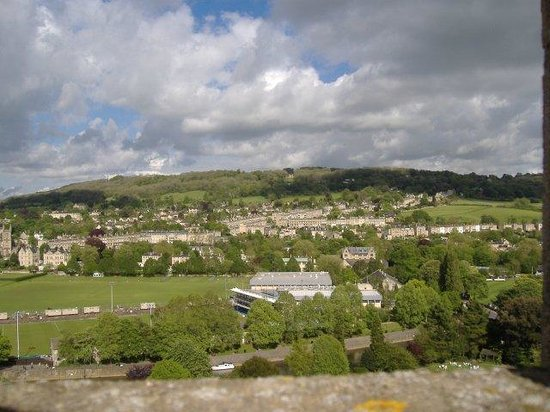 Bath Abbey: View from the top of the tower