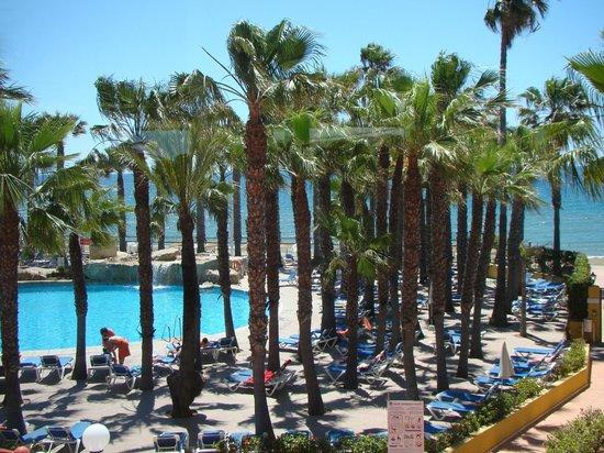 Marbella Playa Hotel: vue du restaurant