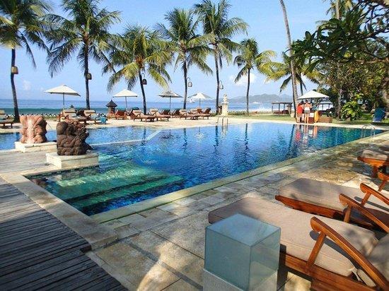 Rama Candidasa Resort & Spa: Pool at Rama Candidasa