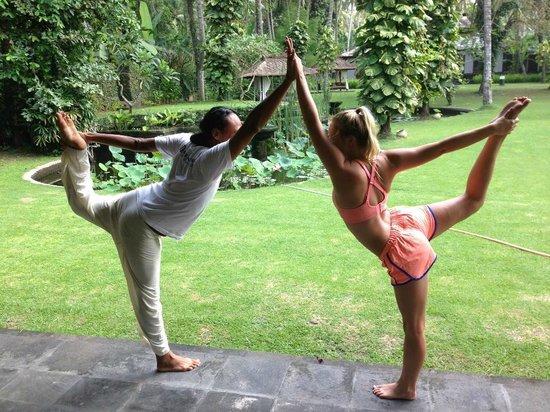 Rama Candidasa Resort & Spa: Yoga at Rama Candidasa