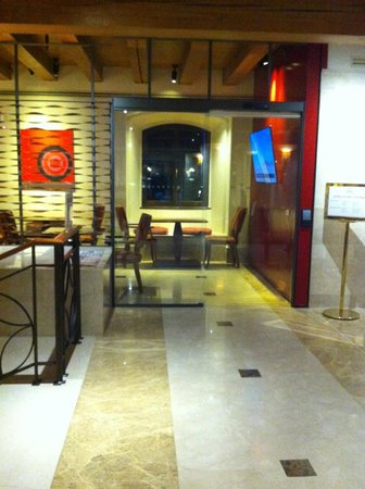 Hilton Molino Stucky Venice Hotel: Entrance to the Executive lounge