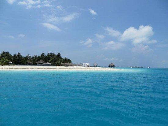 Velassaru Maldives: First view of Velassaru