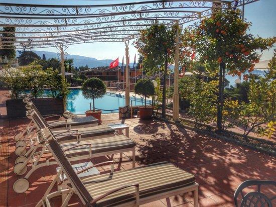 Hotel Villa Florida : Vår terass