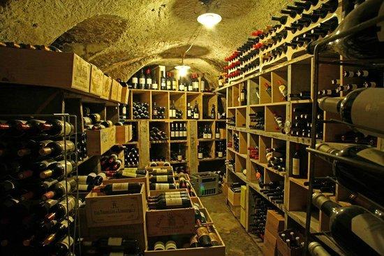 Restaurant du Vieux-Lausanne et Bar Giraf : Notre cave