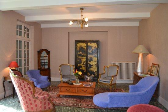 Domaine de Belcayre: le salon