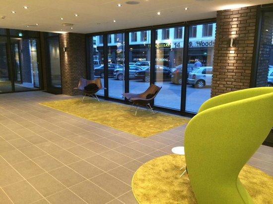 Wakeup Copenhagen, Borgergade: Hotel lobby