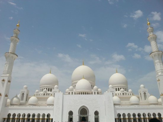 Sheikh Zayed Grand Mosque Center: Outer View