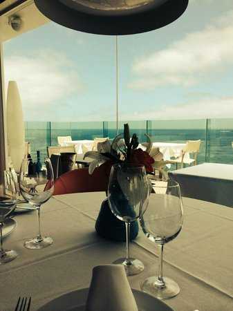 Reina Isabel Hotel: Summum Restaurant with Ocean View