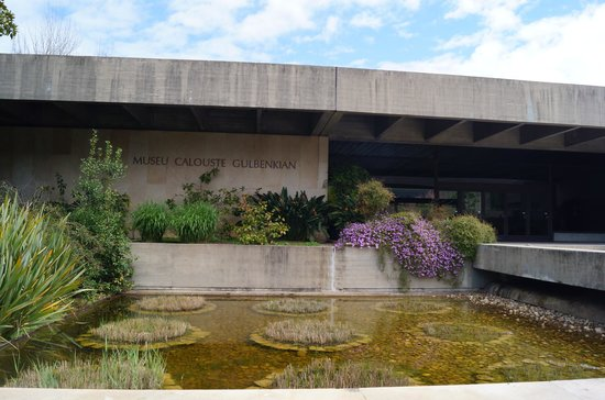 Calouste Gulbenkian Museum - Founder's Collection: вход в музей
