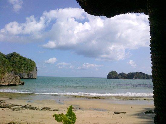 Gota Village Resort: Beach View