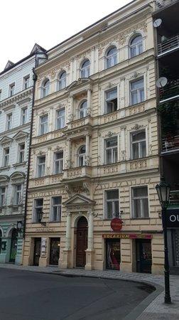 Residence Masna - Prague City Apartments : Красивое здание отеля