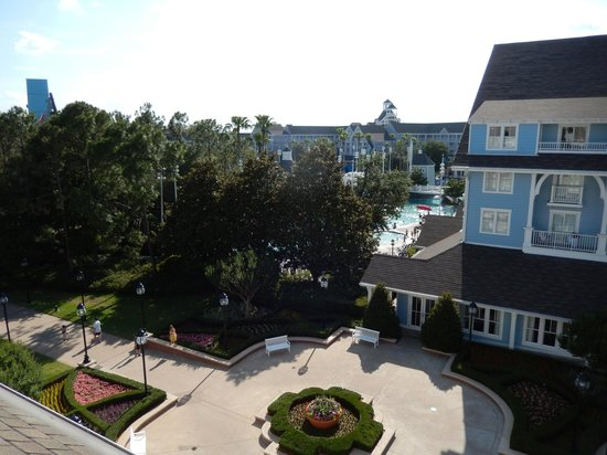 Disney's Beach Club Resort: View from room