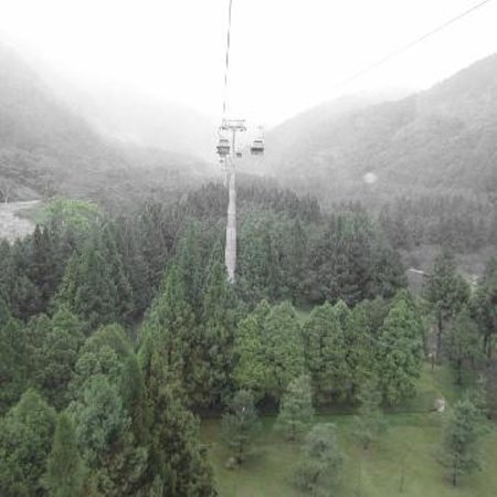 Formosan Aboriginal Culture Village: The cable car inside the themepark
