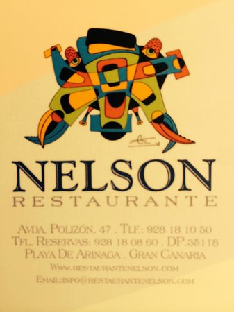 Restaurante Nelson: Welcome by Nelson