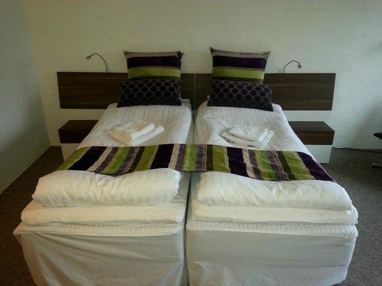 Thorstedlund Hotel & Konferencecenter: Delt dobbelt senge