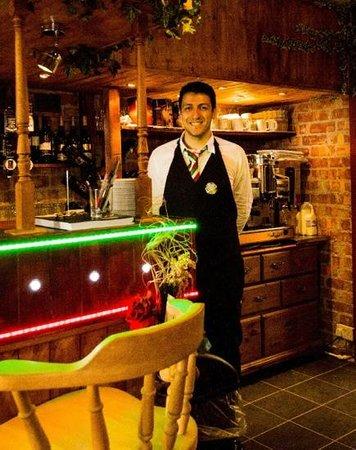 Casa Franco: Gabri our very own singing waiter! let him serenade you??
