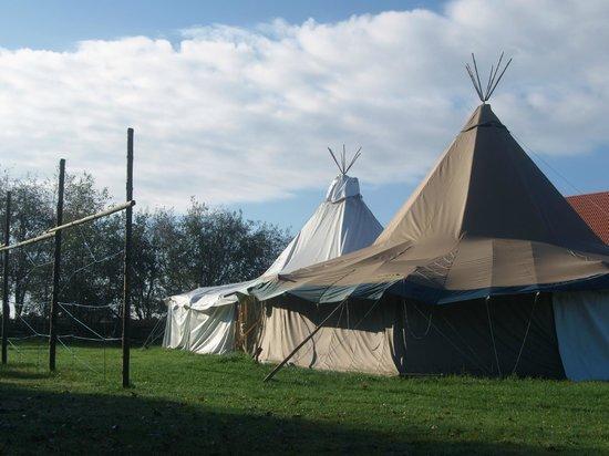 Thorstedlund Hotel & Konferencecenter: Tipi telte til fester, eller store middage arrangementer