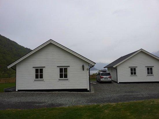 Kinsarvik Camping: Домик с сауной