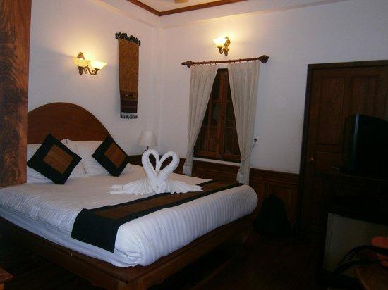 Villa Chitdara: Comfy bed
