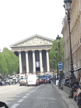 Open Tour Paris : madeleine