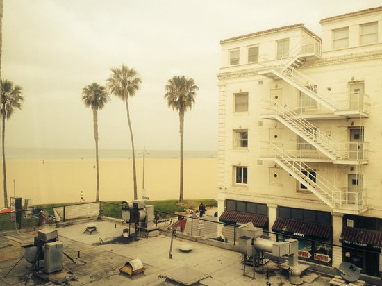 Venice Beach Suites & Hotel: View from room