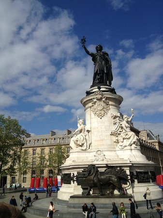 L'Open Tour : view from the bus