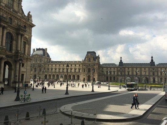 Open Tour Paris : louvre