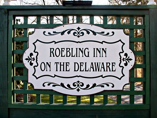 1870 Roebling Inn on the Delaware: Established 1988