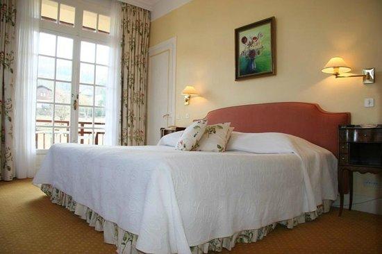 Hotel de la Verniaz et ses Chalets : Chambre Deluxe jardin