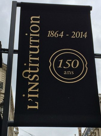 L'Institution : 150 year